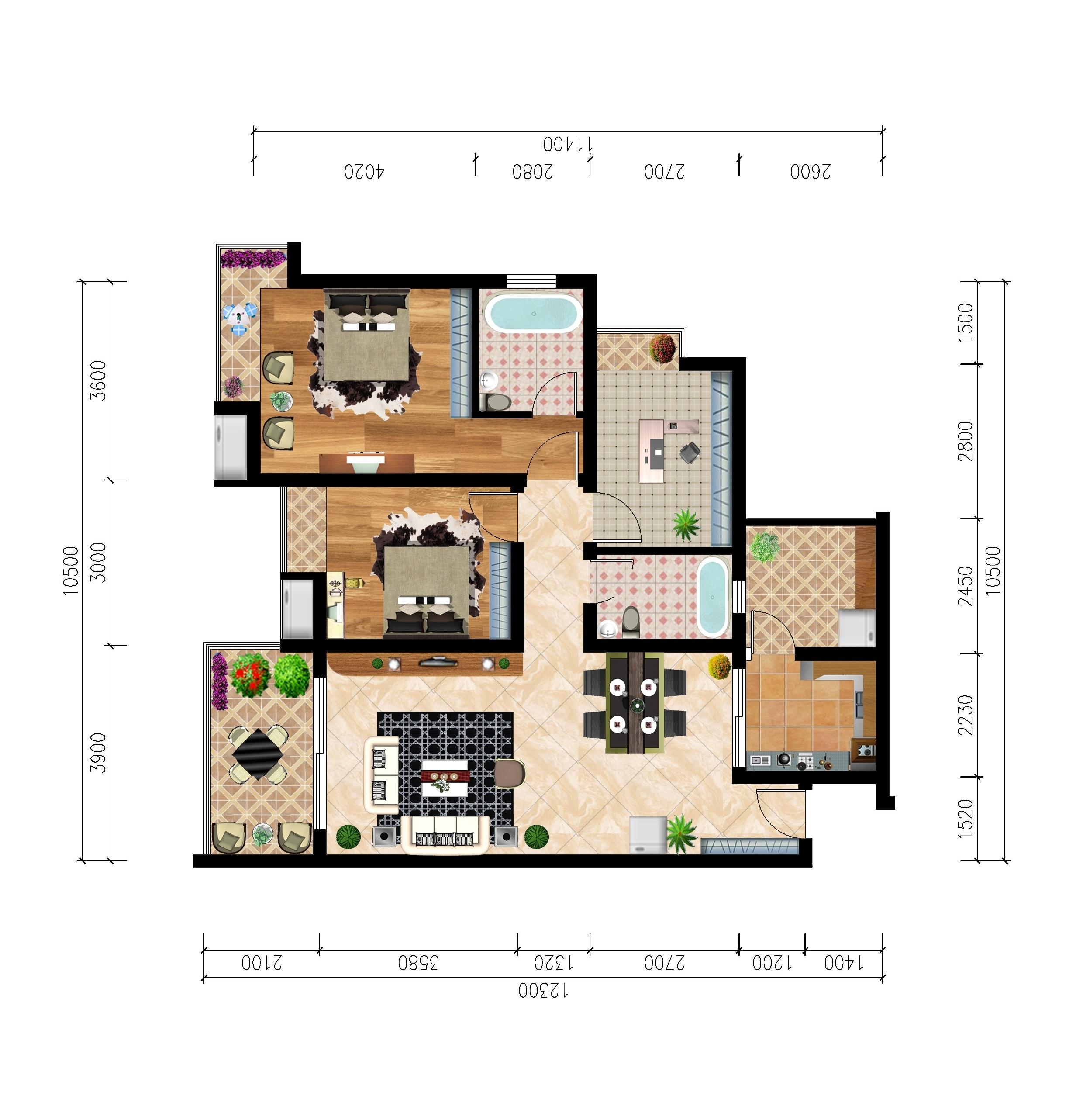 室内平面图_室内平面图设计图纸