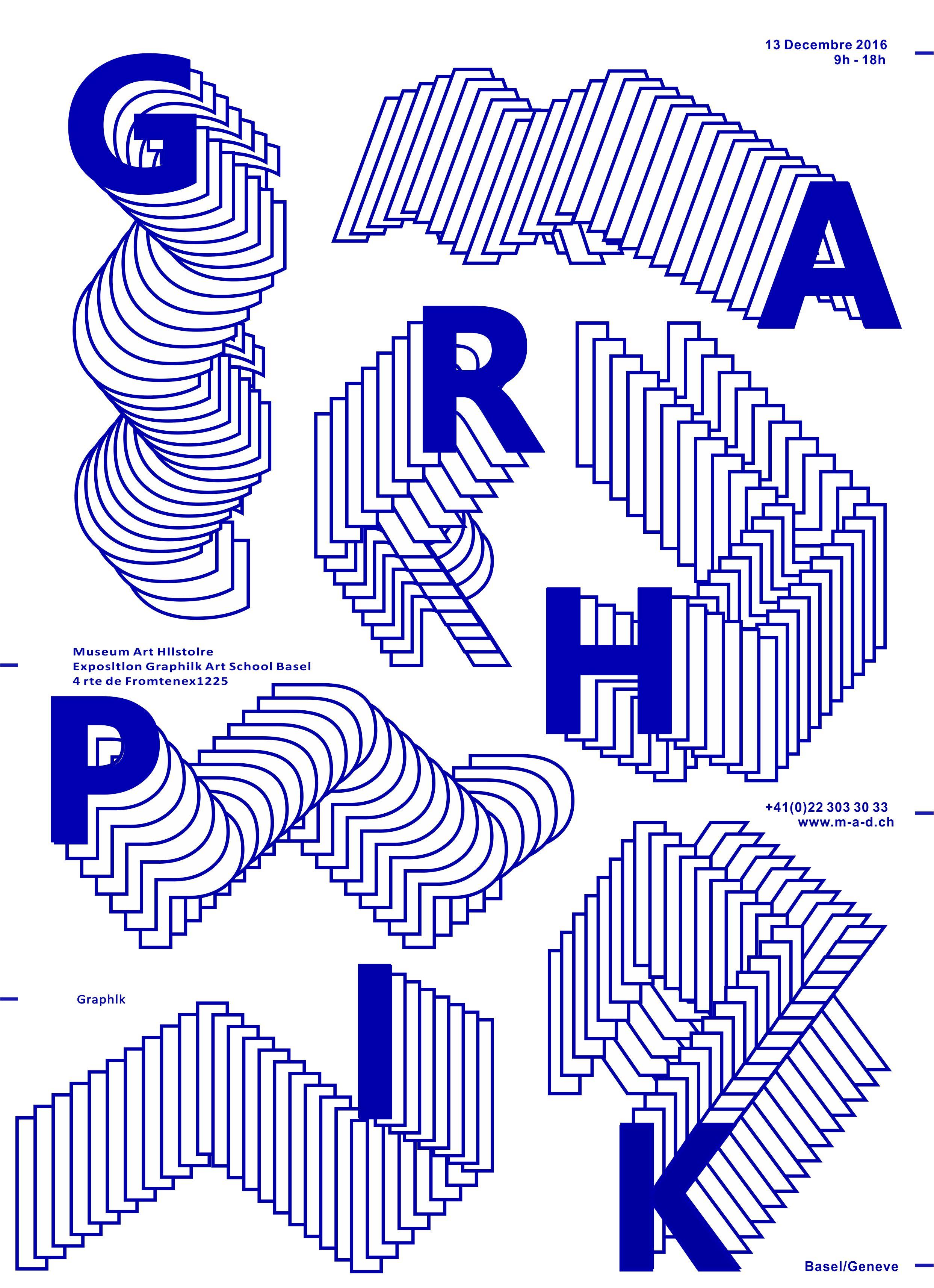 第四天作业:点线面文字海报/dm单张