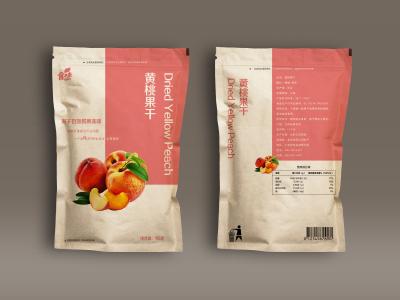 黄桃干包装设计