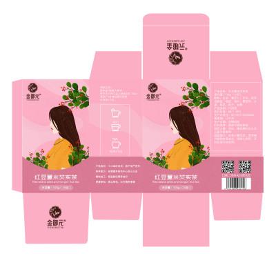 红豆薏米芡实茶外包装设计