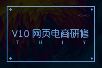 V10 网页电商研修阶段