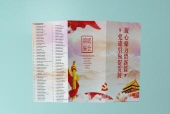 党委宣传折页