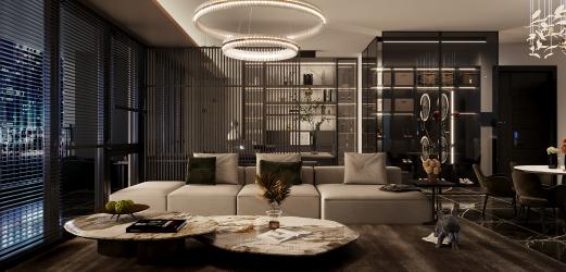 设计新中式风格空间搭配方案