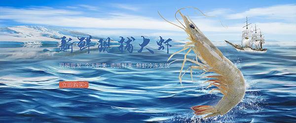 海报---鲜御新鲜现补大虾
