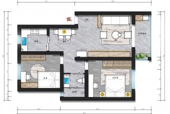 彩平图---家居空间