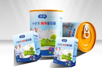 包装---铁罐葡萄糖设计